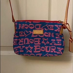 Dooney Bourke Clutch Purse with Strap